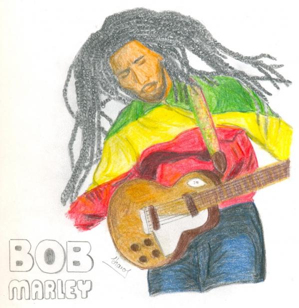 Bob Marley by chaito